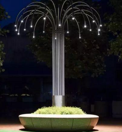 景观灯的设计应用原则碳钢法兰